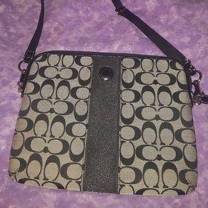 Coach Tablet Crossbody Bag